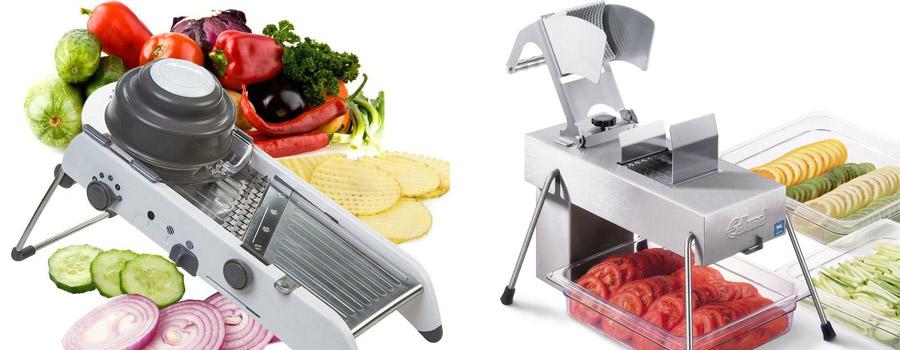 Slicer Cuts Vegetables