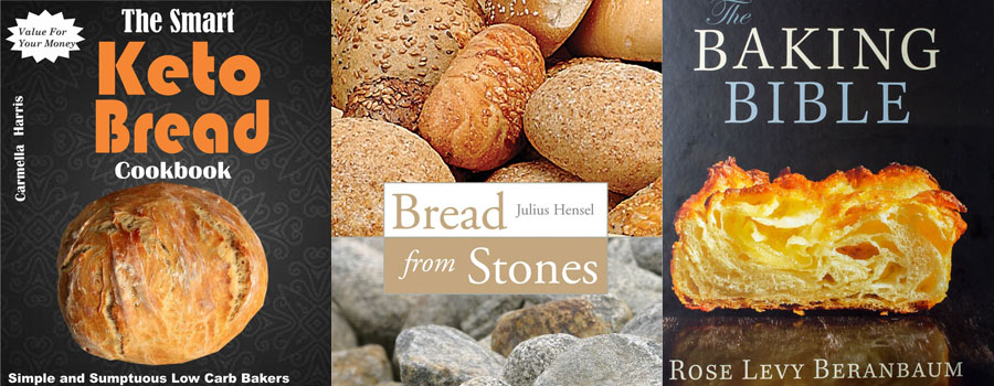 books on baking bread