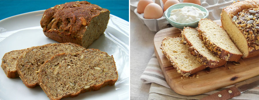 Rye Bread and Bread With Low Carb