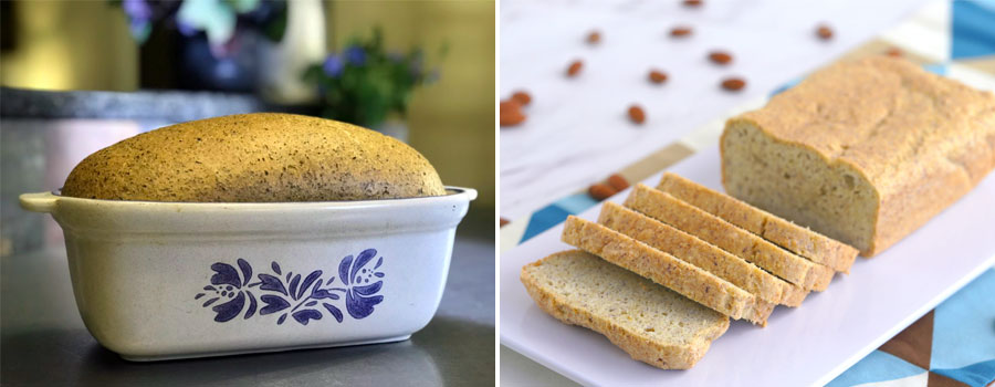 Bread from unseeded flour