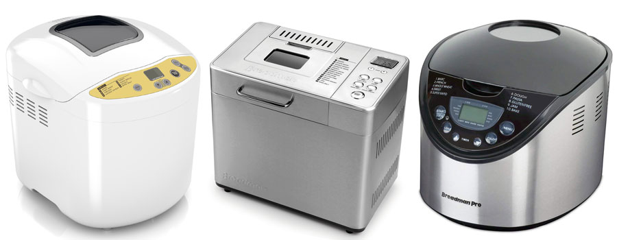 Top 3 Breadman Bread Makers