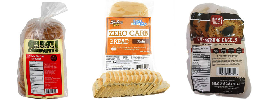 Low-calorie bread from the store