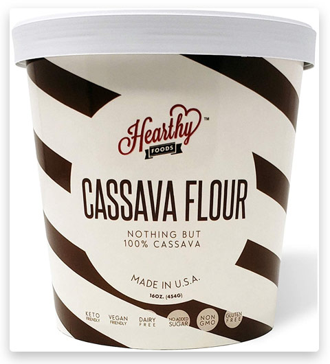 Hearthy Foods Delicious Cassava Flour