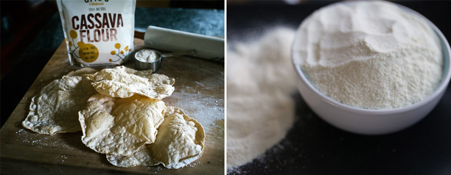 cassava flour products