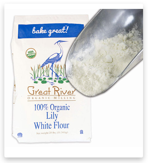 Great River Organic Milling White Bread Flour