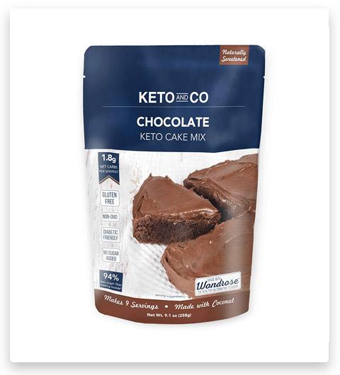 Keto and Co Chocolate Keto Cake Mix