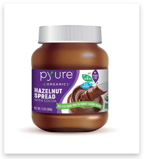 Pyure Organic Hazelnut Spread With Cocoa Keto Friendly