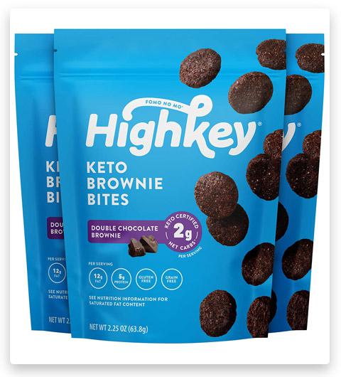HIGHKEY SNACKS Keto Low Carb Food Chocolate Brownie Cookie