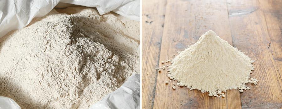 High quality true flour