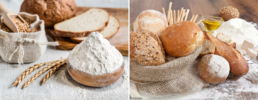 Homemade Organic Flour Products