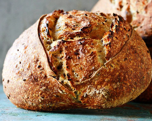 Homemade Bread Made From Bread Flour