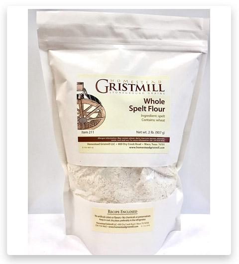 Homestead Gristmill Organic Spelt Flour