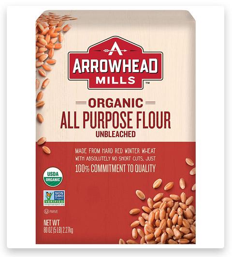 ARROWHEAD MILLS White Unbleached Organic Flour