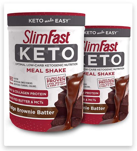 SlimFast Keto Meal Replacement Powder Fudge Brownie