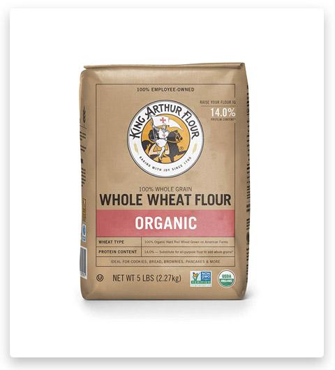 King Arthur Flour Organic Premium Whole Wheat Flour