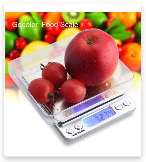 GDEALER DS1 Pocket Kitchen Multifunction Scale