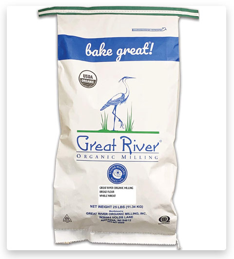 Great River Organic Milling Organic Whole Wheat Bread Flour