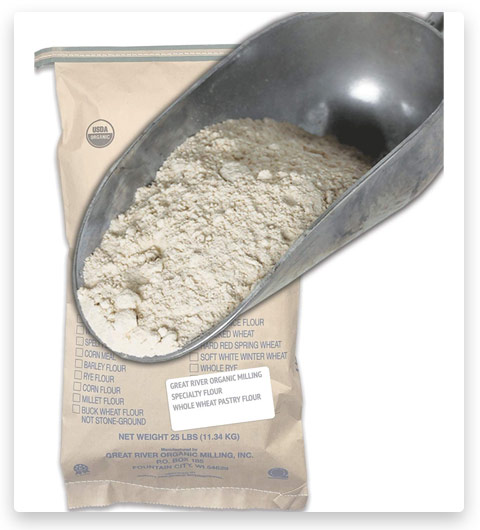 Great River Organic Milling Specailty Flour Whole Wheat Pastry Flour