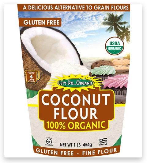 Let's Do...Organic Coconut Flour, 16 Ounce Pouches