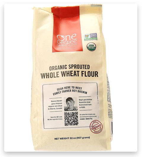 One Degree Flour Whl Wht Sprouted