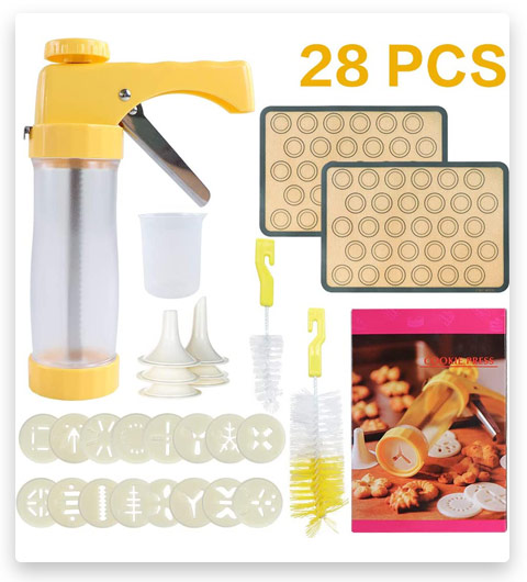 ZNCMRR Cookies Press Gun Kit Set