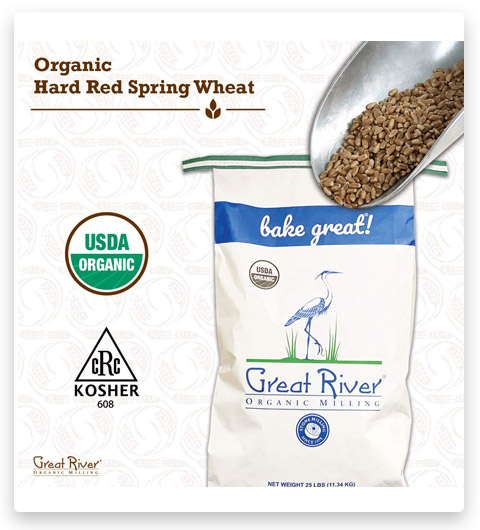 Great River Organic Milling Flour