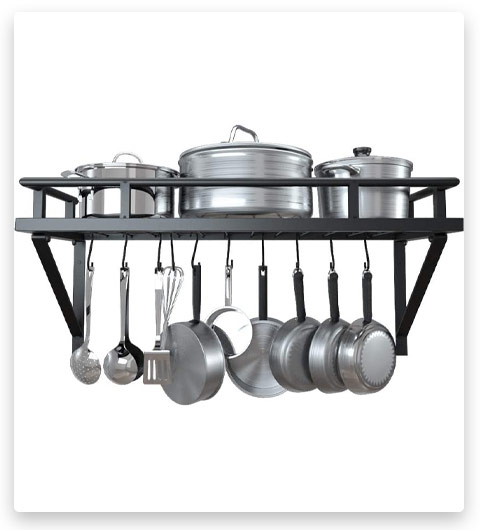 KES Wall Pot Pan Rack
