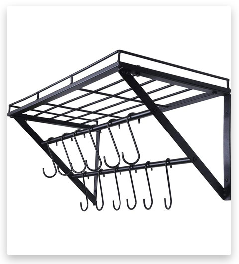 OROPY Wall Mounted Pot Rack