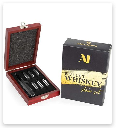 Alan James Whiskey Stone Gift Set