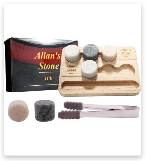 Allan Whiskey Stones Set