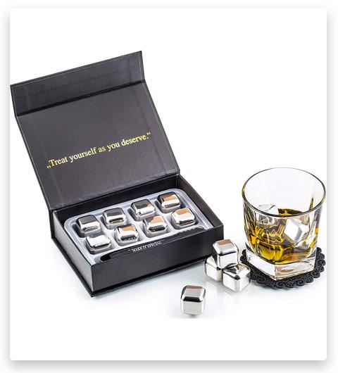 Amerigo Exclusive Whiskey Stones Gift Set
