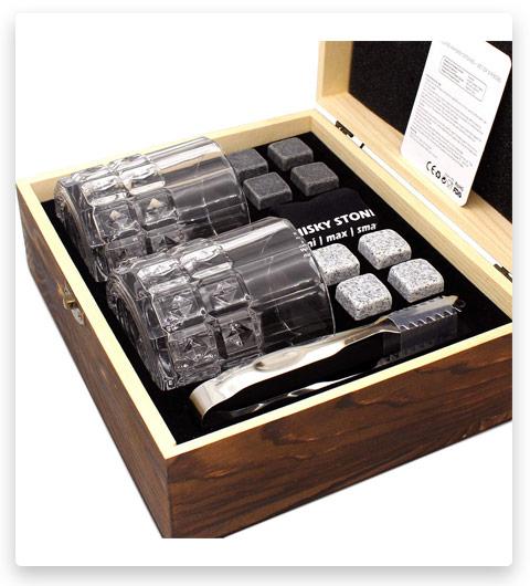 BWSJ Whiskey Stones Gift Set