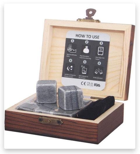Barleo Malt Whiskey Stones Gift Set