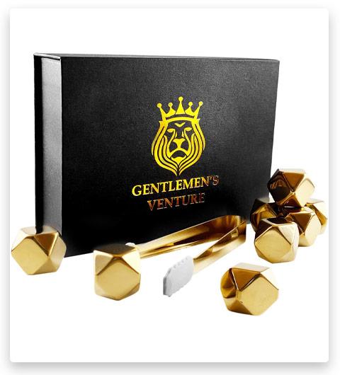 Gentelmen's Venture Whiskey Stones Set