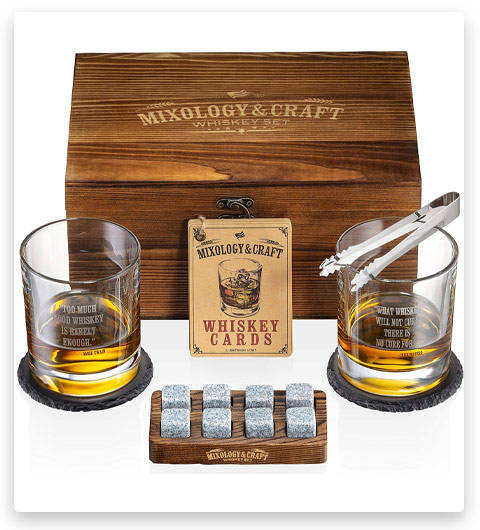 Mixology & Craft Whiskey Stones Set