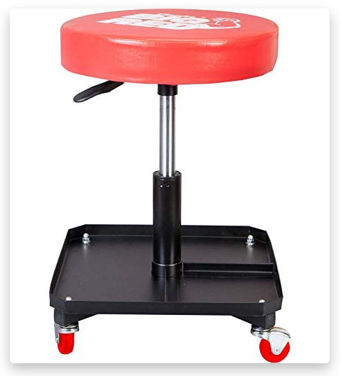 BIG RED Torin Rolling Pneumatic Creeper Shop Seat