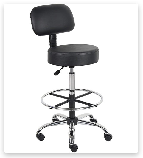Boss Office Products Be Well Medical Spa Drafting Stool