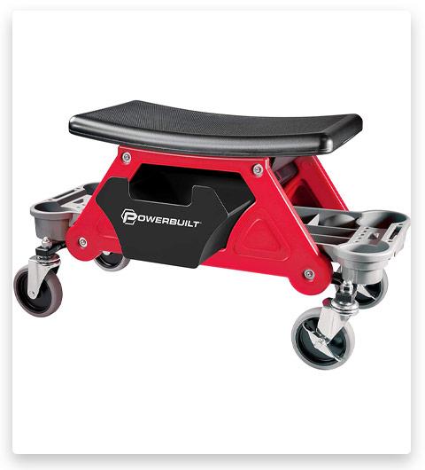 Powerbuilt Heavy Duty Roller Mechanics Seat