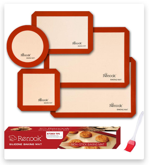 RENOOK Silicone Baking Mats