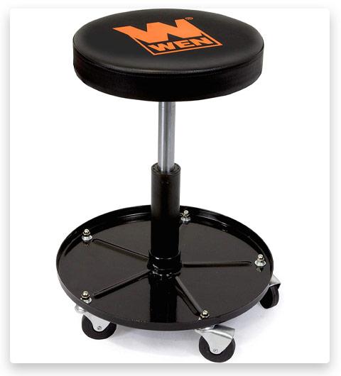 WEN Capacity Pneumatic Rolling Mechanic Stool Seat