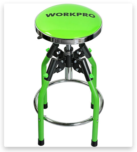 WORKPRO Heavy Duty Adjustable Hydraulic Stool