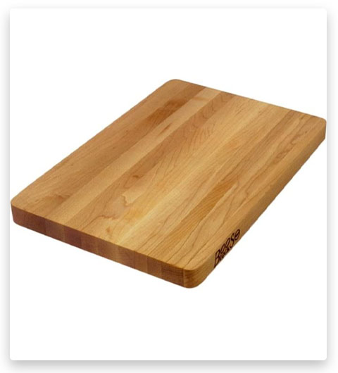 John Boos Wood Edge Grain Reversible Cutting Board