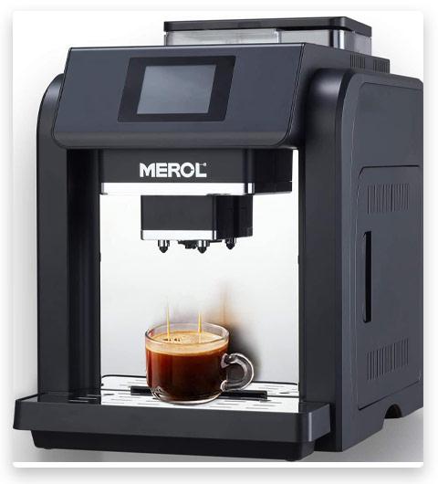 MEROL Super Automatic Espresso Coffee Machine