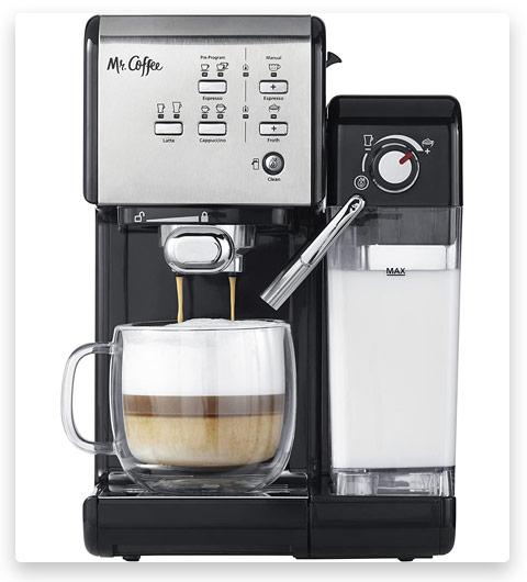 Mr. Coffee CoffeeHouse Espresso Cappuccino Machine