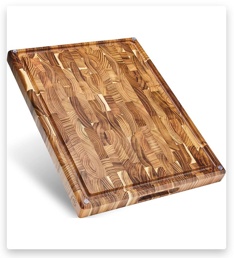 Sonder Los Angeles Grain Teak Wood Cutting Board