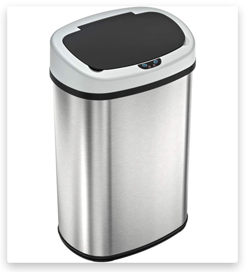 iTouchless SensorCan Touchless Trash Can
