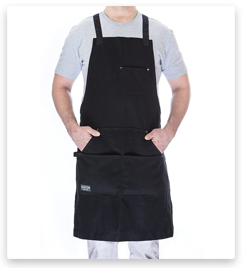 Hudson Durable Goods Professional Grade Chef Apron Kitchen